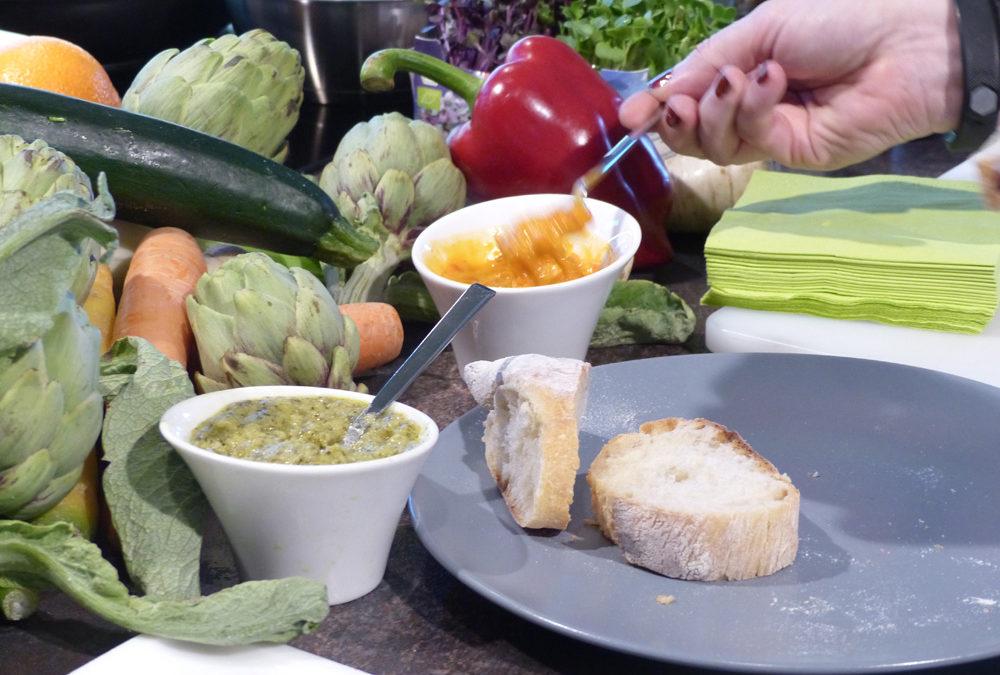 Soulfood für die Seele: Gemüse-Brotaufstrich, verfeinert mit Olivenöl der Provence