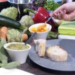 Mit unserem Olivenöl aus der Provence wird dieser Gemüse-Brotaufstrich noch mal so gut.