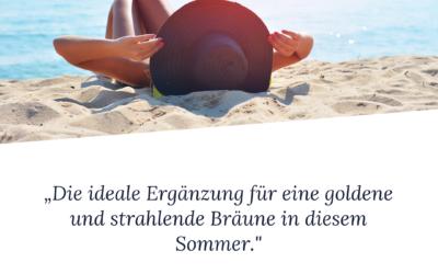 Sommer Körperpflege